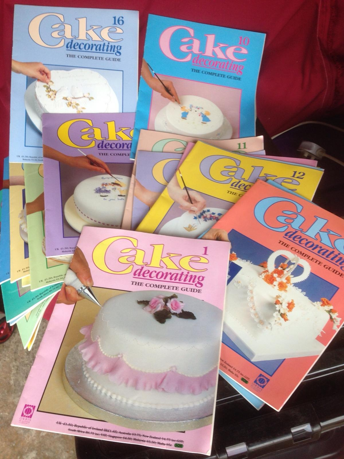 Collection Of Cake Decorating Books