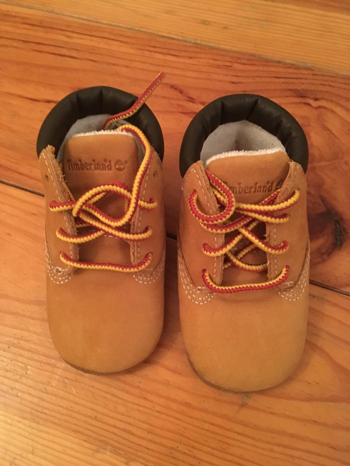 Timberland baby crib boots size 2.5