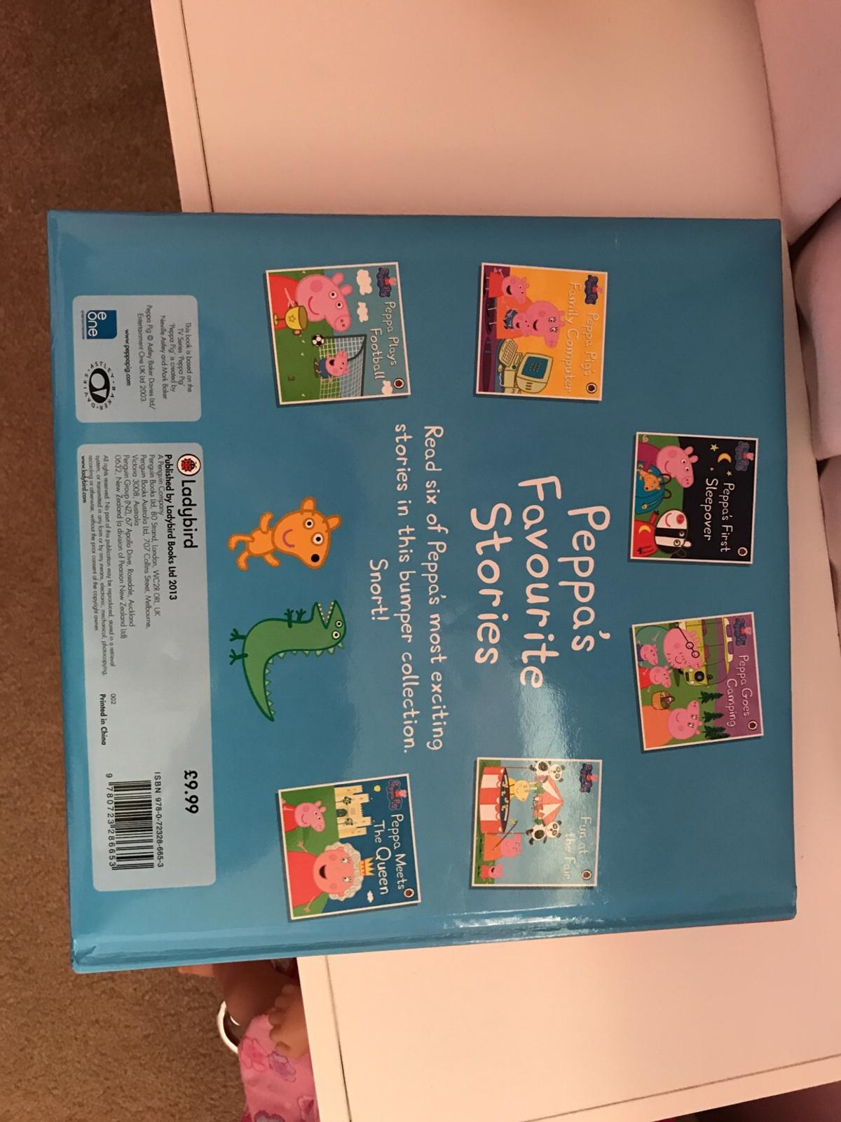 Peppa pig 6 books in 1 hardback book