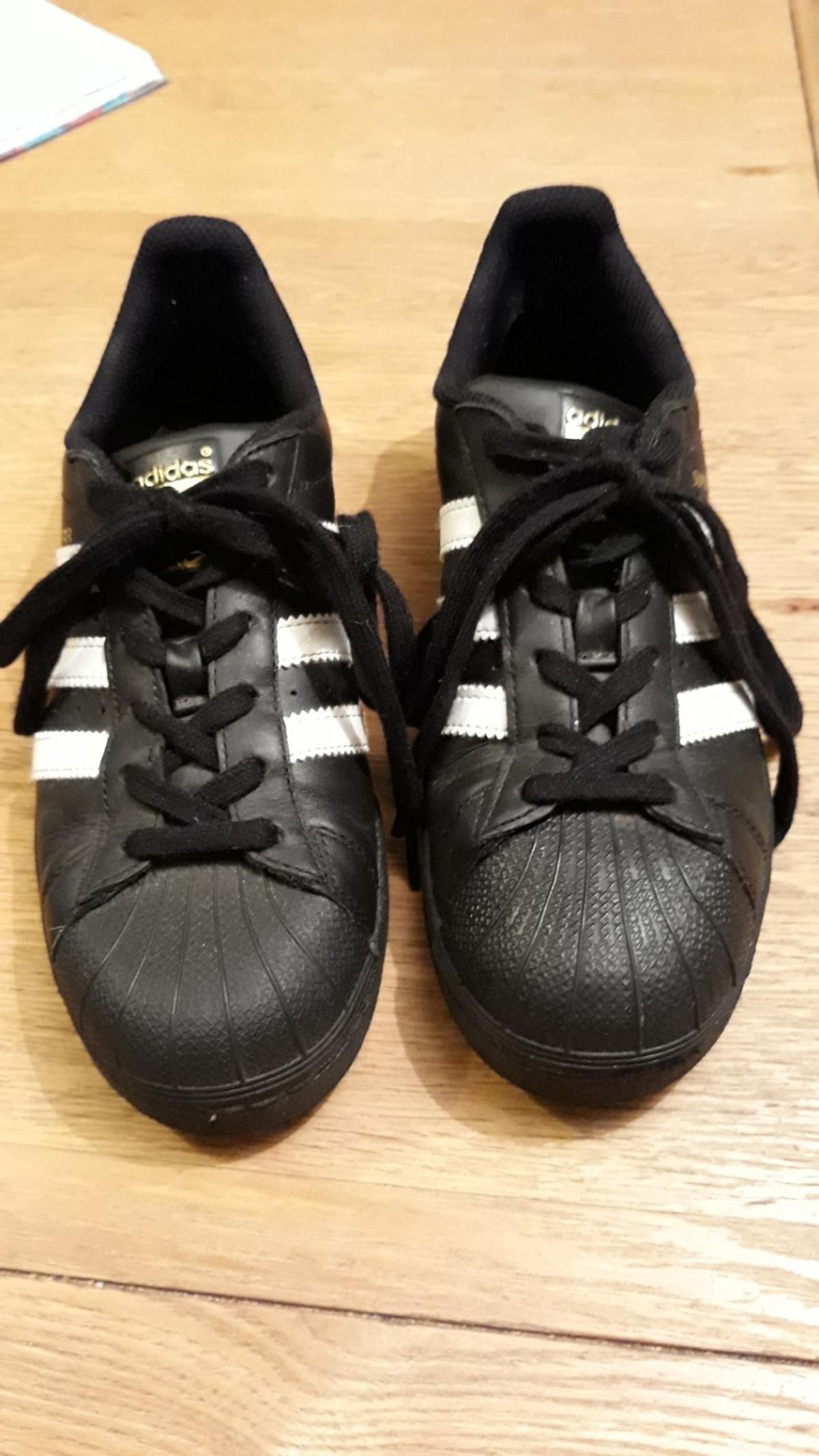adidas superstar black white no gold