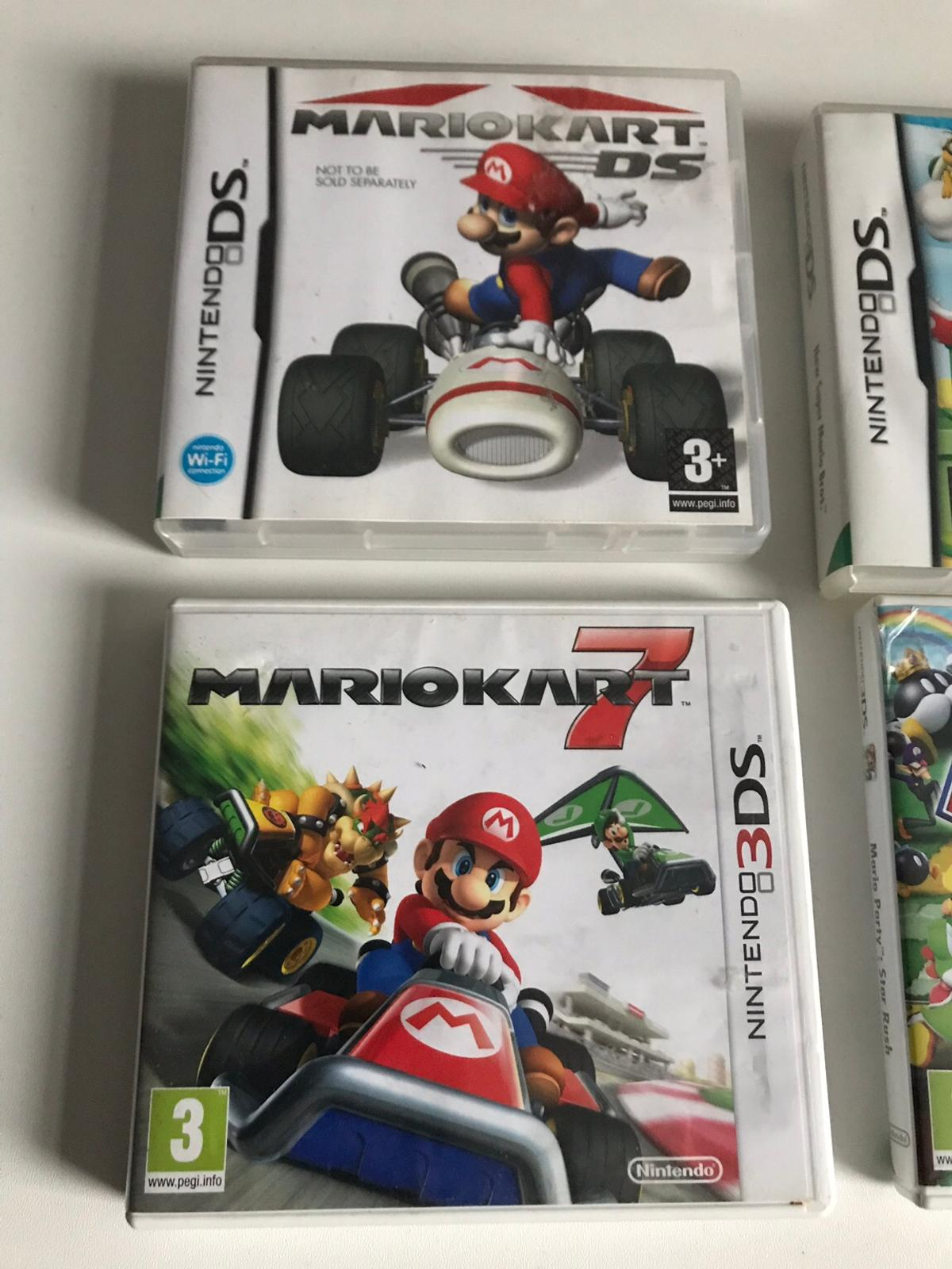 Nintendo 3ds and 2ds games x5