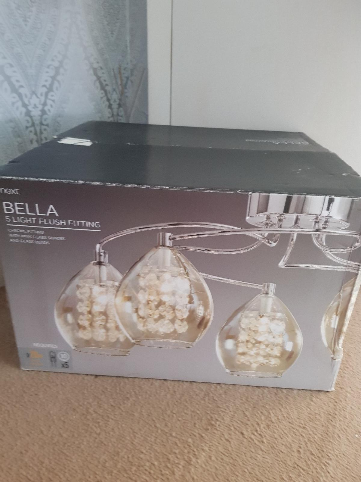 check out 4f290 4d770 NEXT Bella Light shade fitting