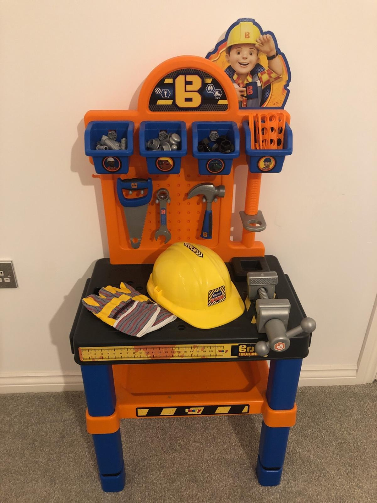 Phenomenal Smoby Bob The Builder Workbench Tools In Barnsley For Gmtry Best Dining Table And Chair Ideas Images Gmtryco