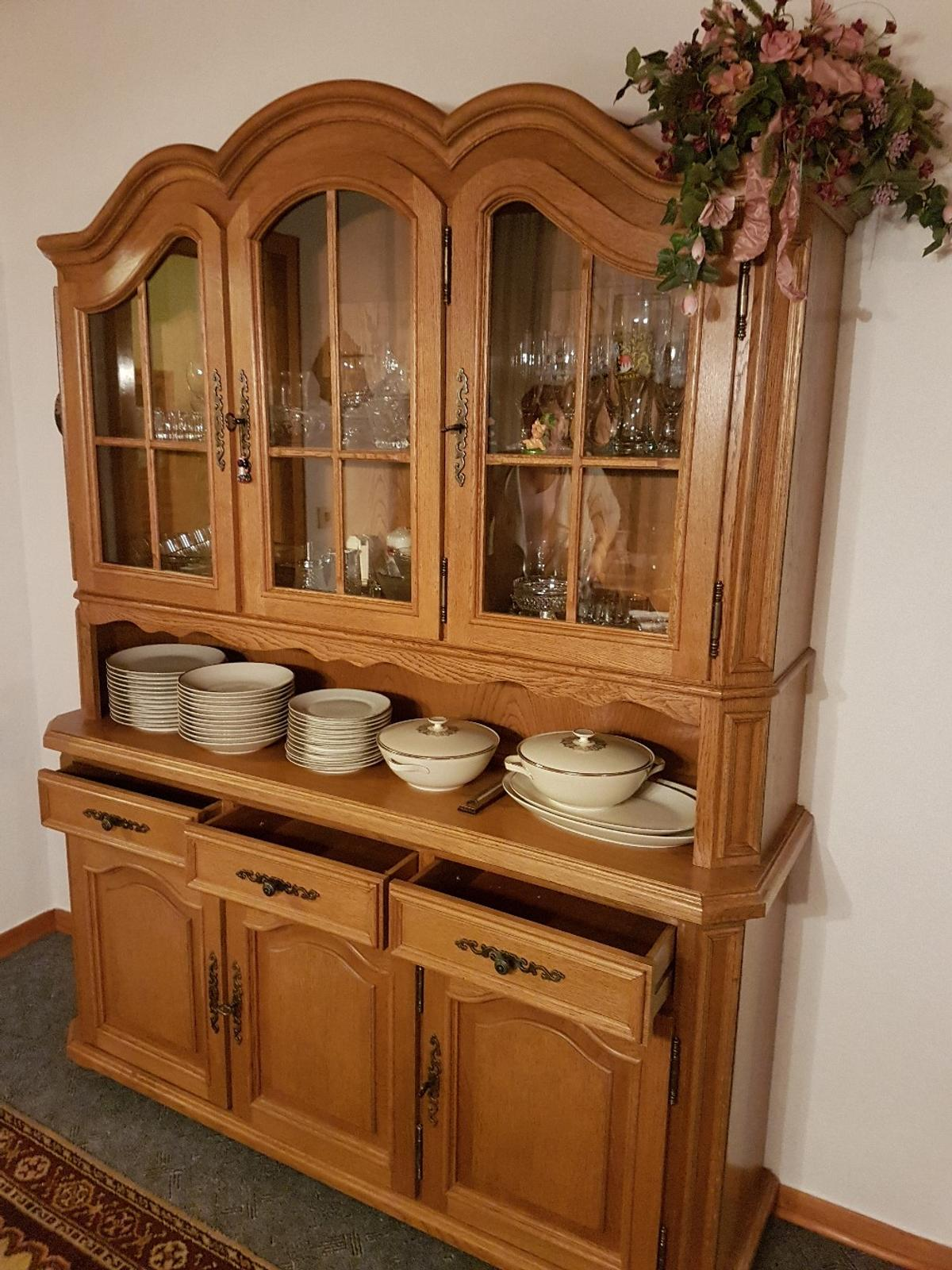 Buffet Schrank Mit Kommode Eiche Massiv In 51647 Gummersbach For