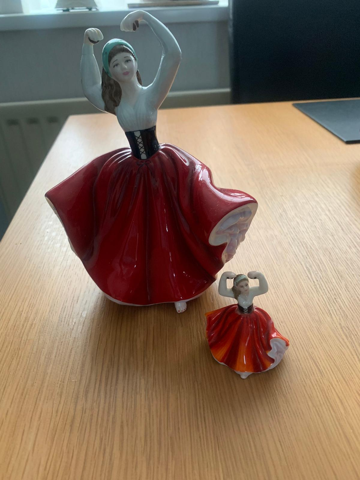 Reduced for quick sale Royal Doulton Figures in ST5-Lyme for
