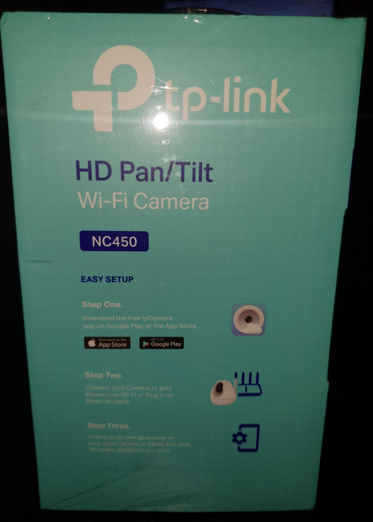 Tp-link HD surveillance camera NC450 NEW! in CV21 Rugby for