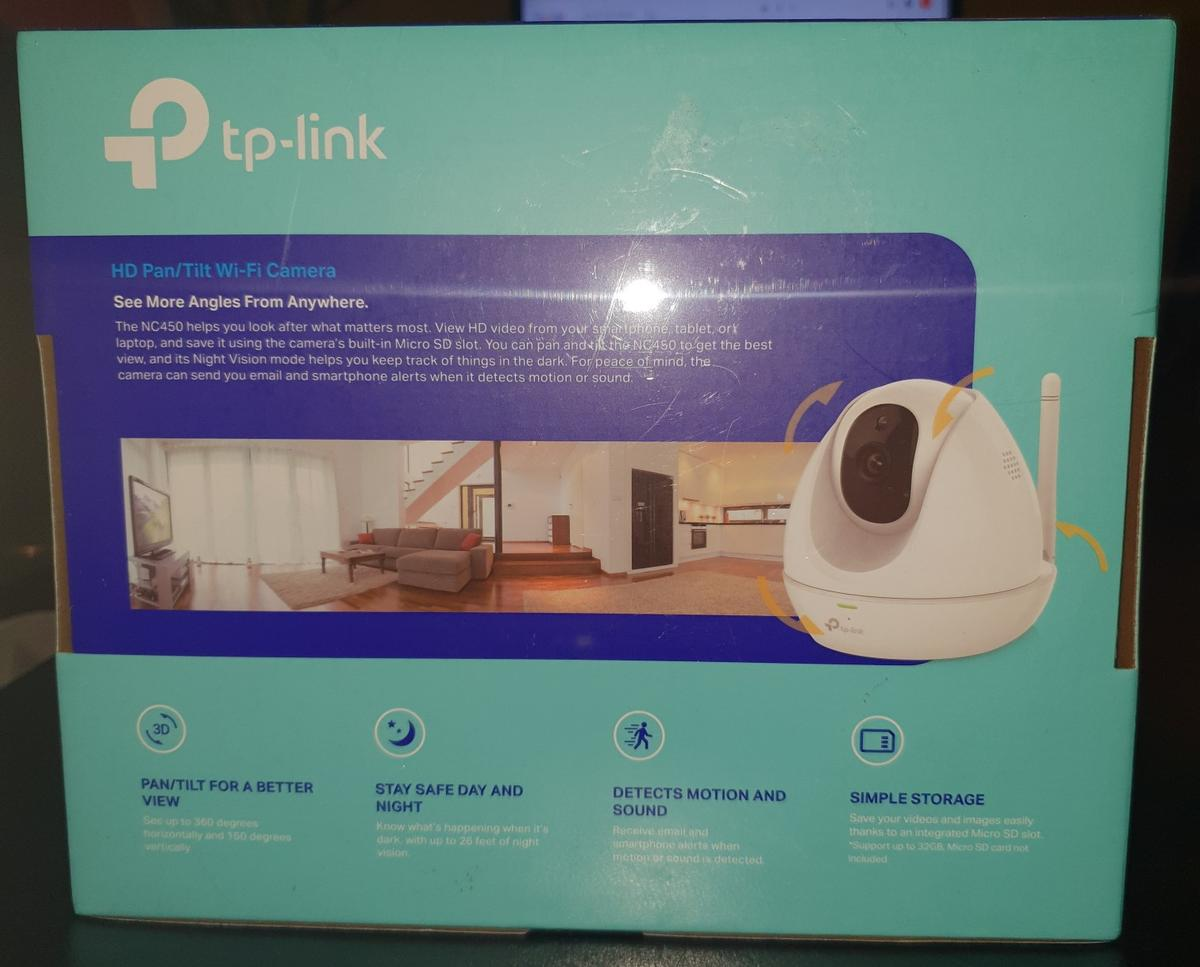 Tp-link HD surveillance camera NC450 NEW! in CV21 Rugby for £75 00