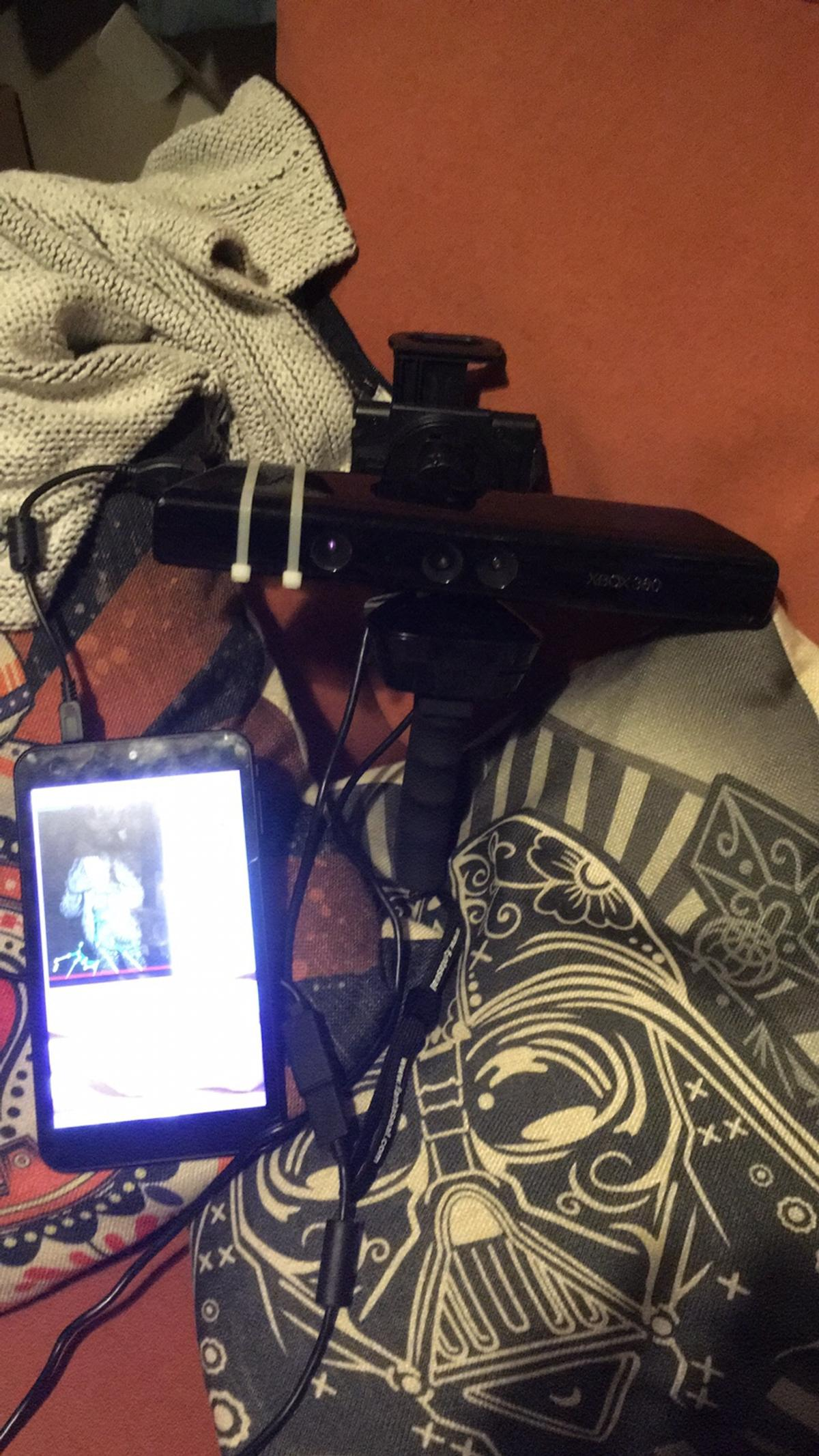 Kinect SLS Ghost Hunting Camera Rig in DY6 Dudley for