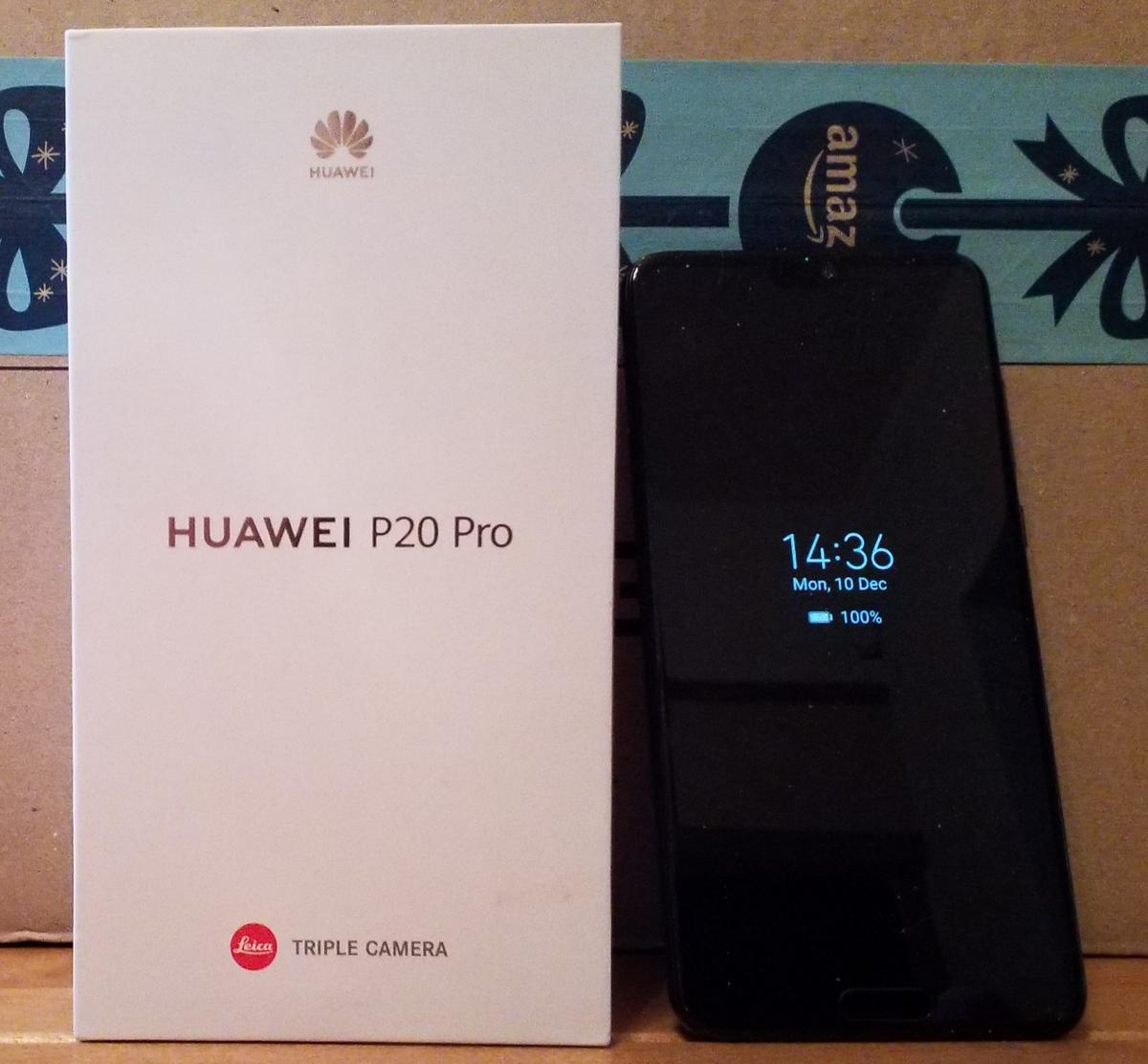 Huawei P20 Pro Black 128GB Boxed on o2 in L4 Liverpool for