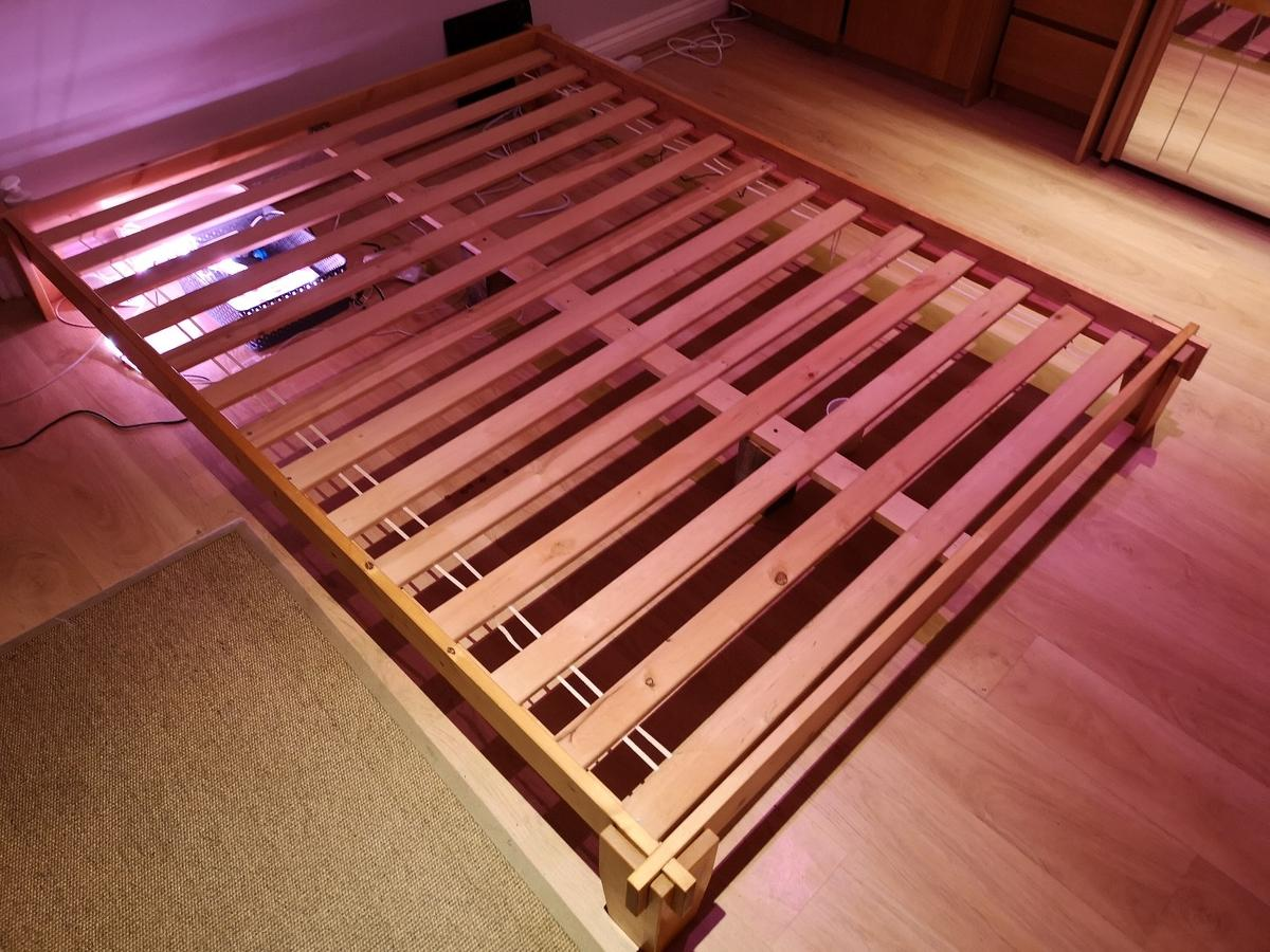 King Size Futon Tatami Bed Frame In Gu19 Surrey Heath Fur 45 00 Zum Verkauf Shpock De