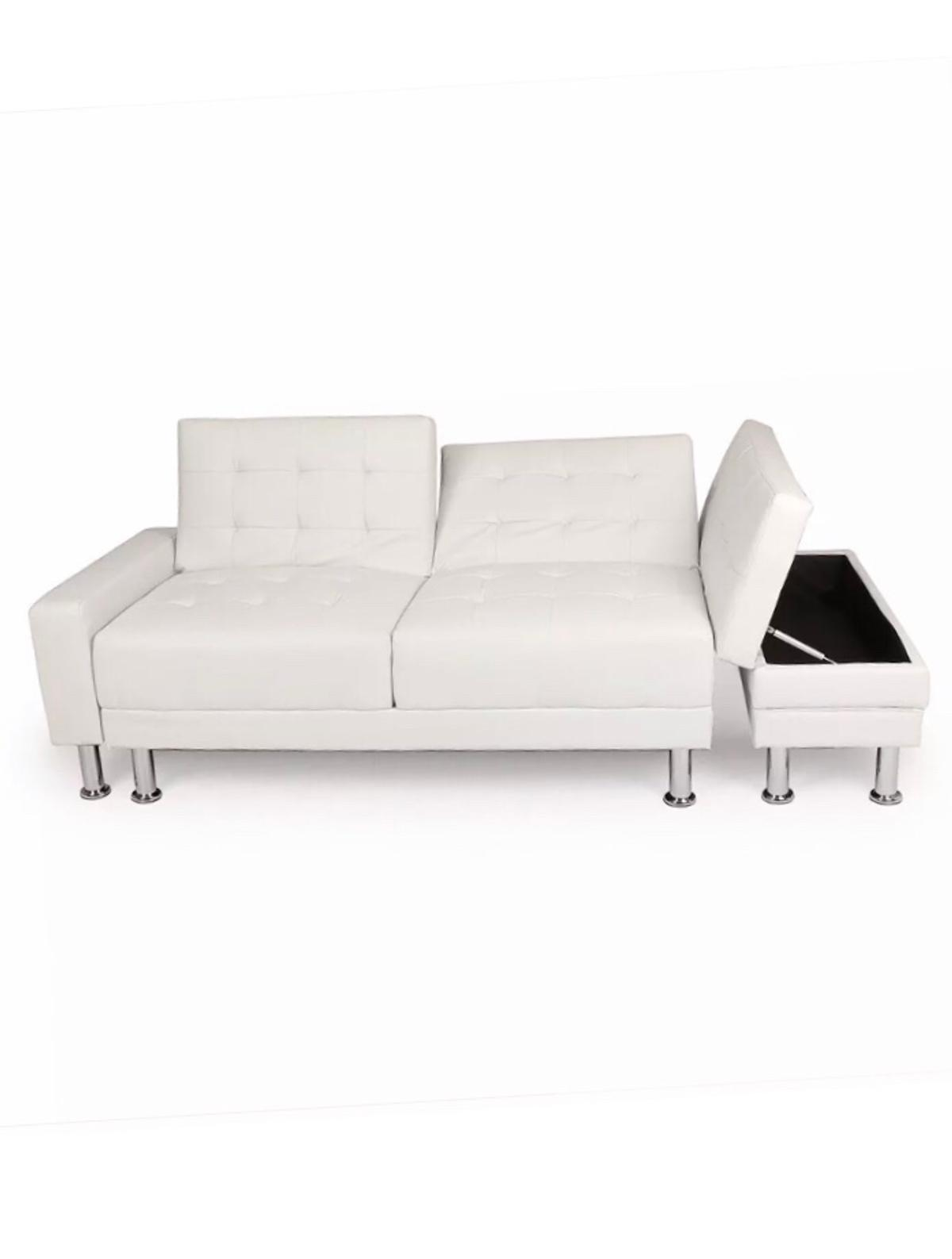 White Sofa/ Sofa bed