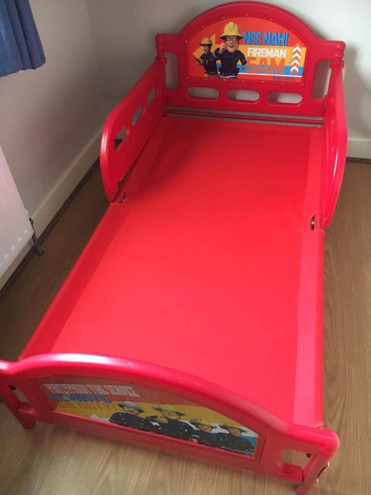 new style f86bc 4b0ee Fireman sam toddler bed in E17 Epping Forest for £50.00 for ...