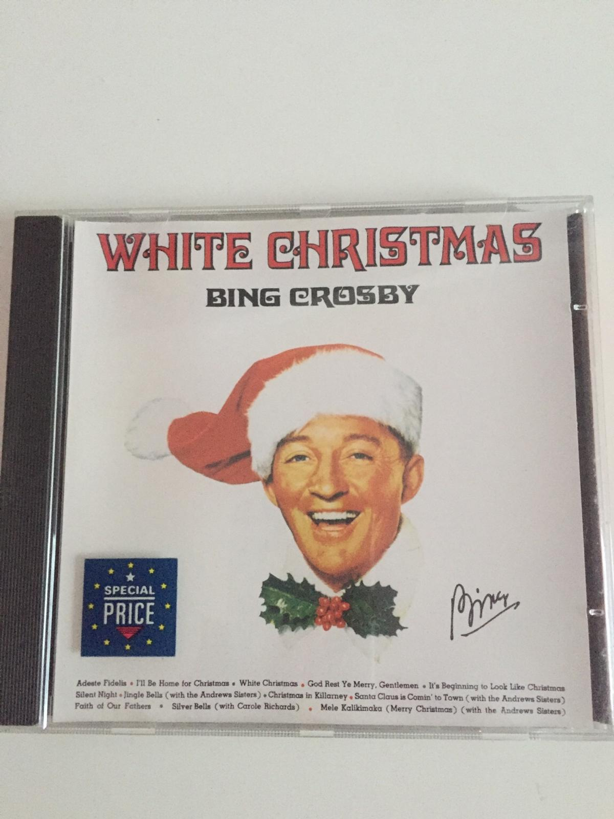 Cd White Christmas Bing Crosby Weihnachtslied In 22880 Wedel For 4 00 For Sale Shpock