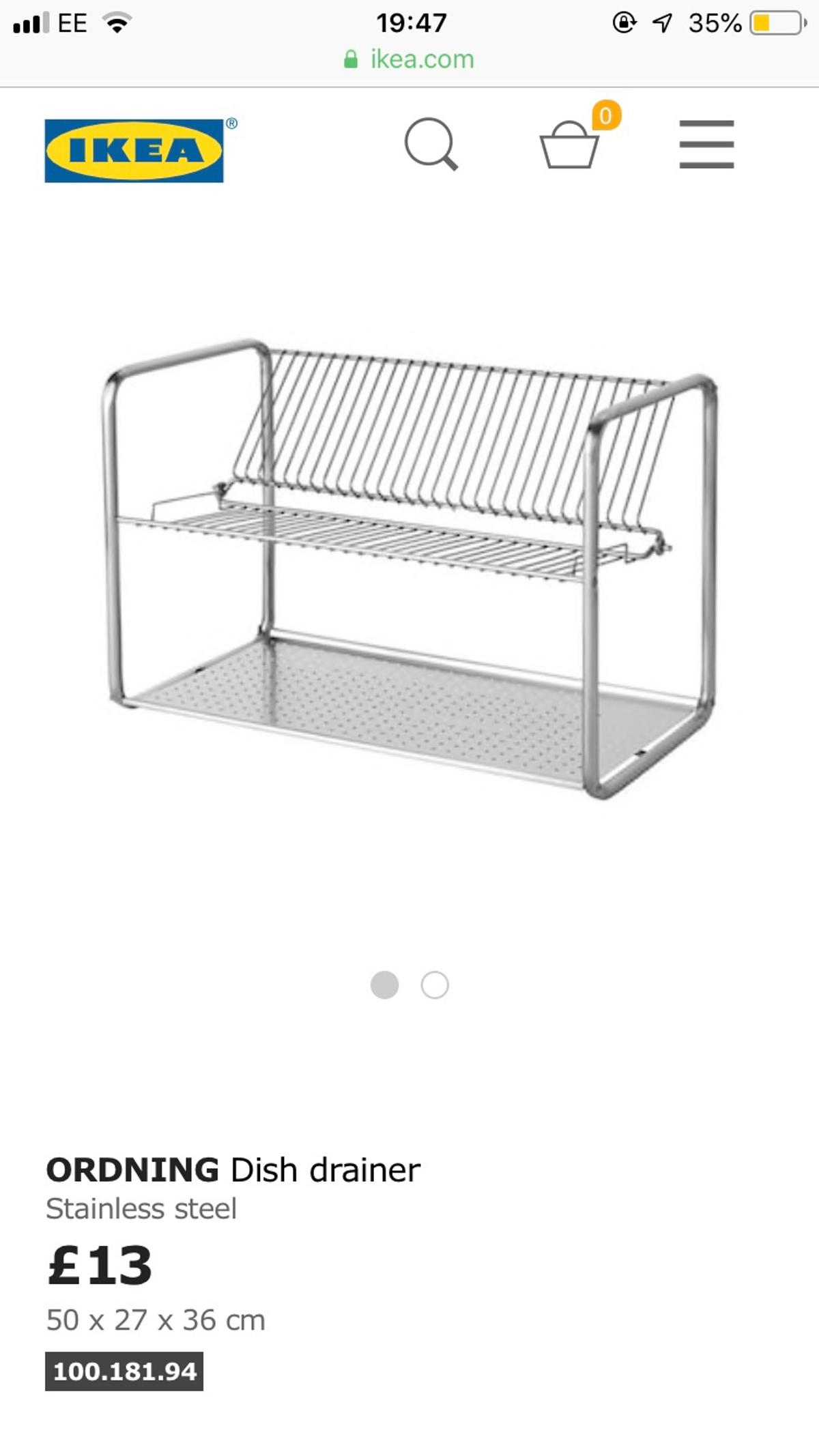 Brand new Ikea kitchen utensil rack set