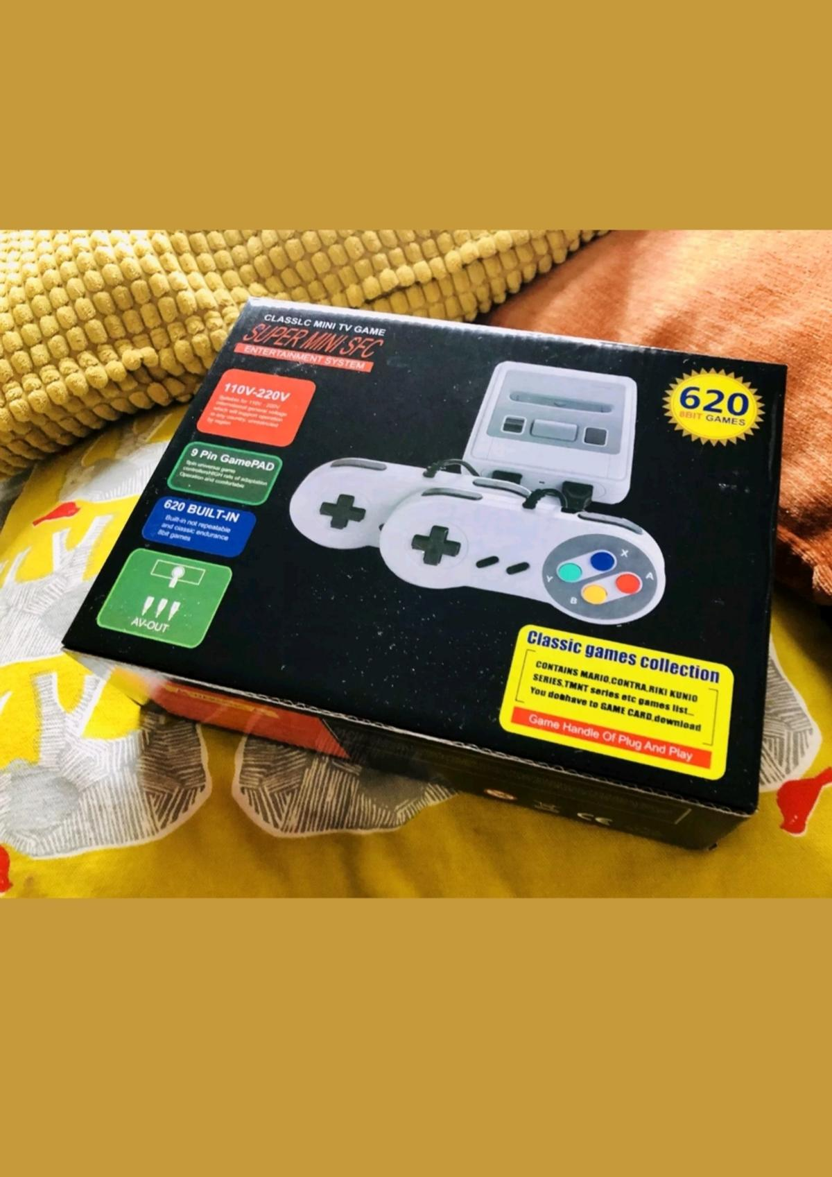 Mini Snes with 620 classic games