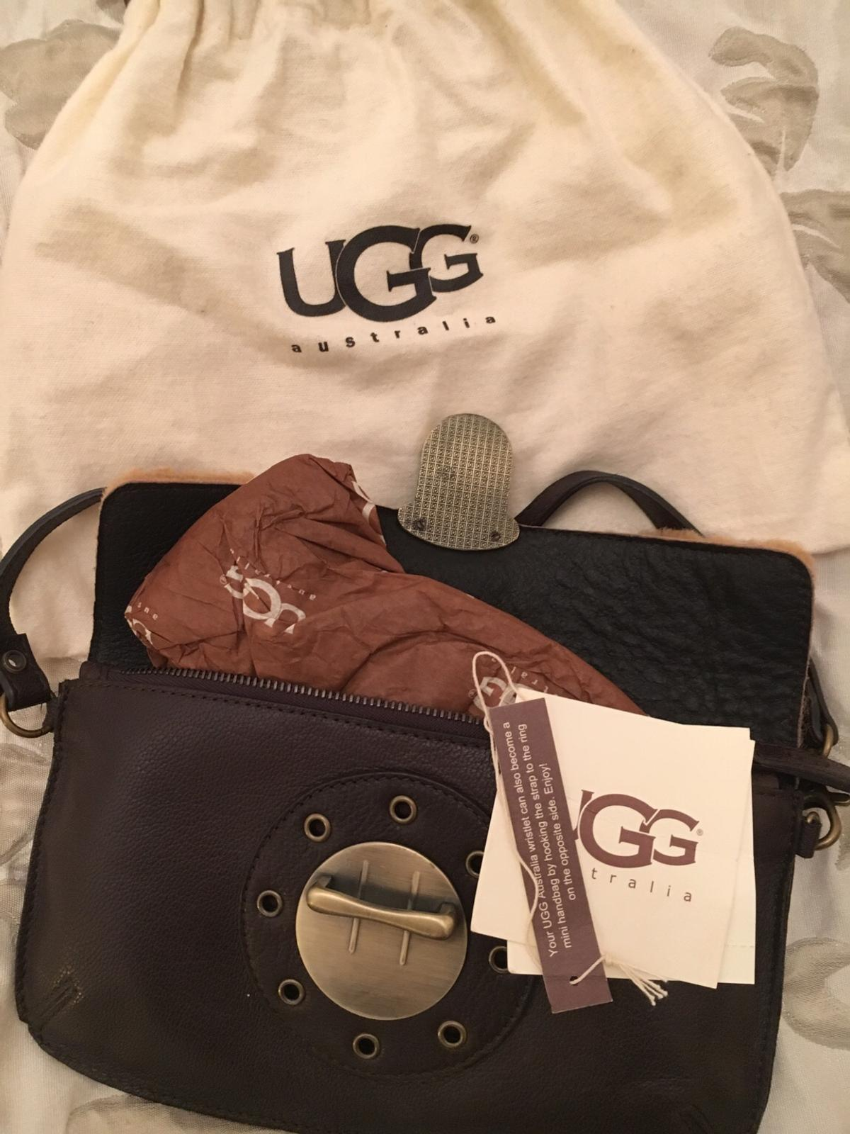 b0b378a8cd1 BNWT Ugg Leather Handbag