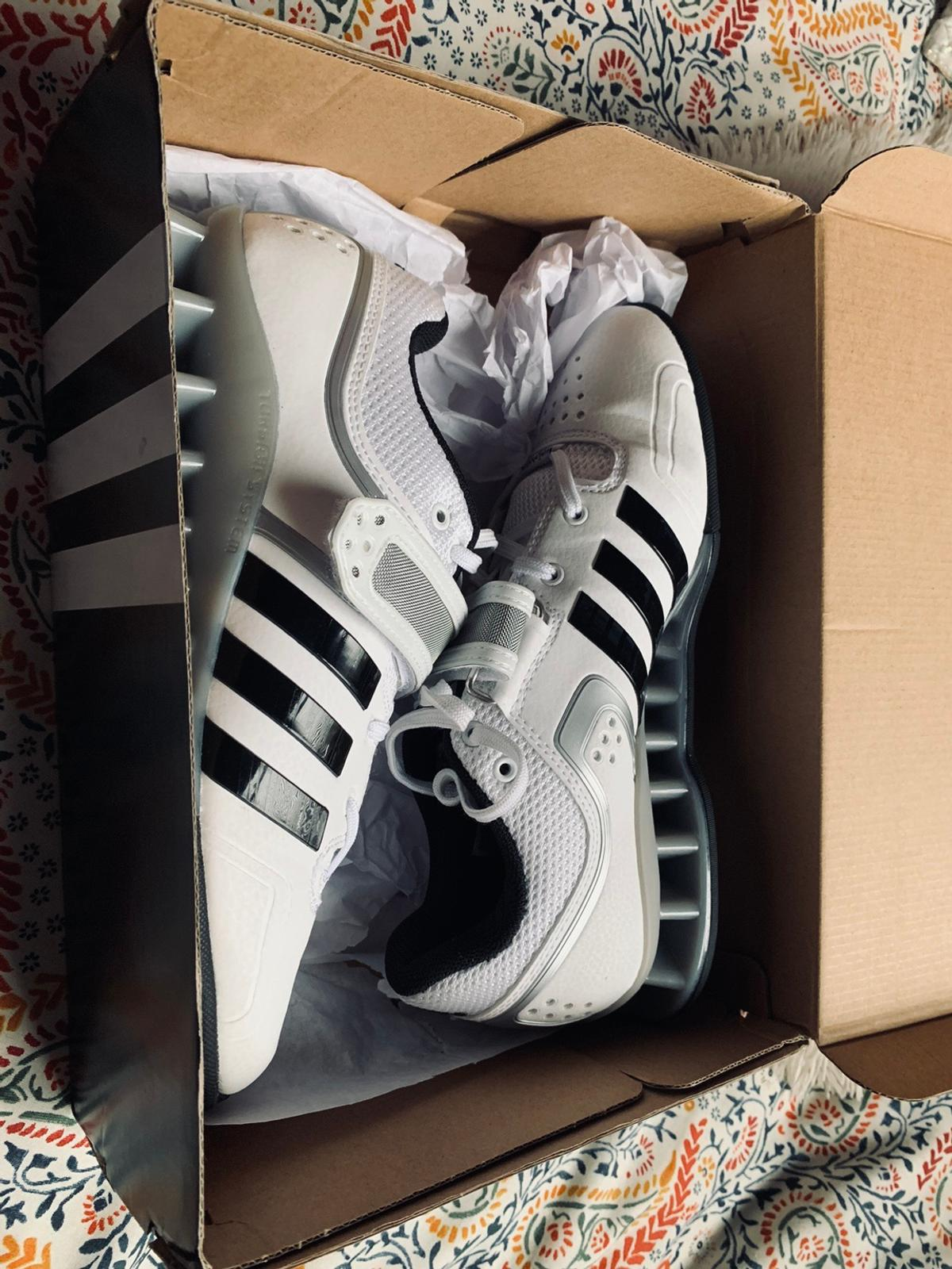 Size 13 adidas Adipower weightlifting shoes