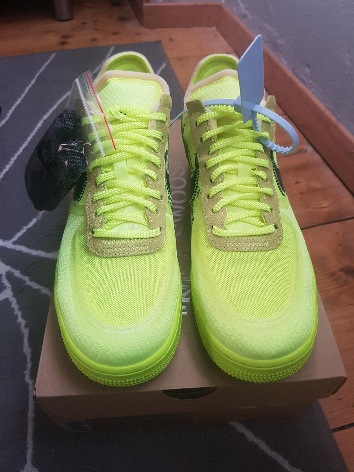 Off X Air 1 Low Nike White Force Us9 Volt kXZiTuOP