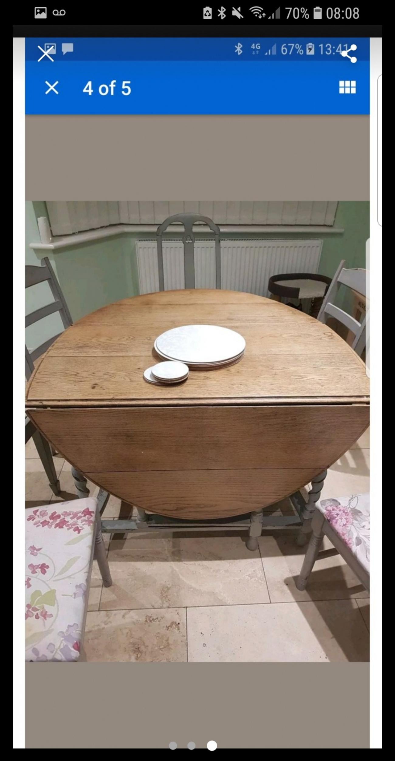Lovely 6 Seater Drop Leaf Table