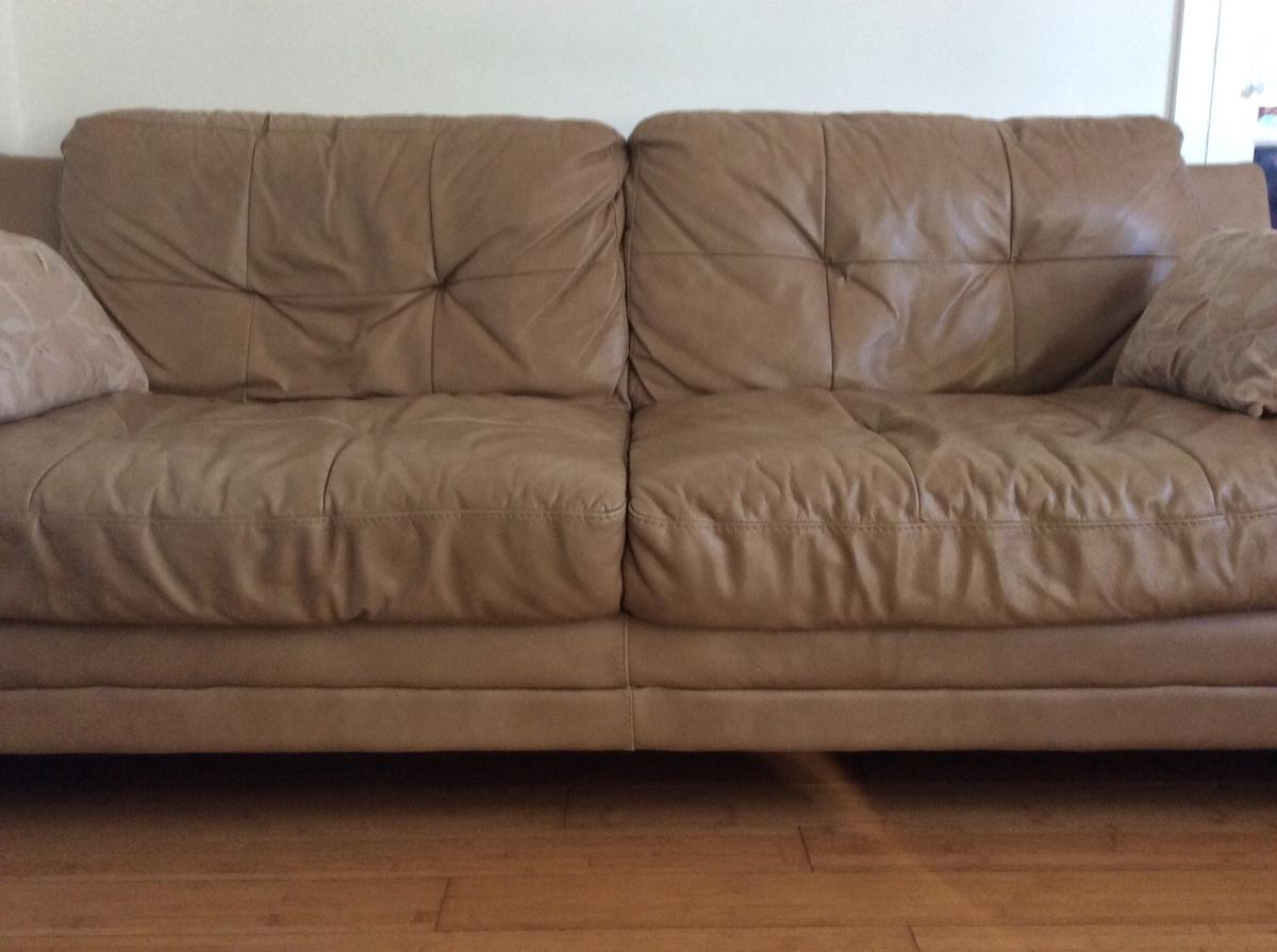 Fine Dfs Domain 3 Seater Leather Sofa In Se9 Greenwich For Dailytribune Chair Design For Home Dailytribuneorg