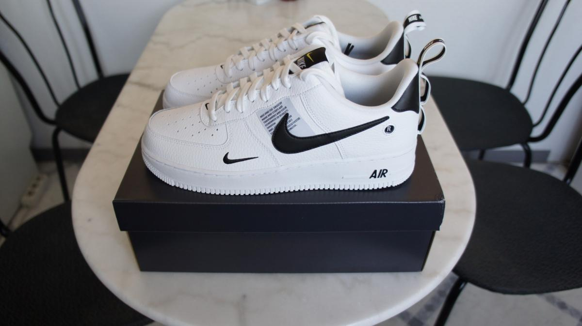 Nike Air Force 1 '07 LV8 Utility 43 Weiß Neu