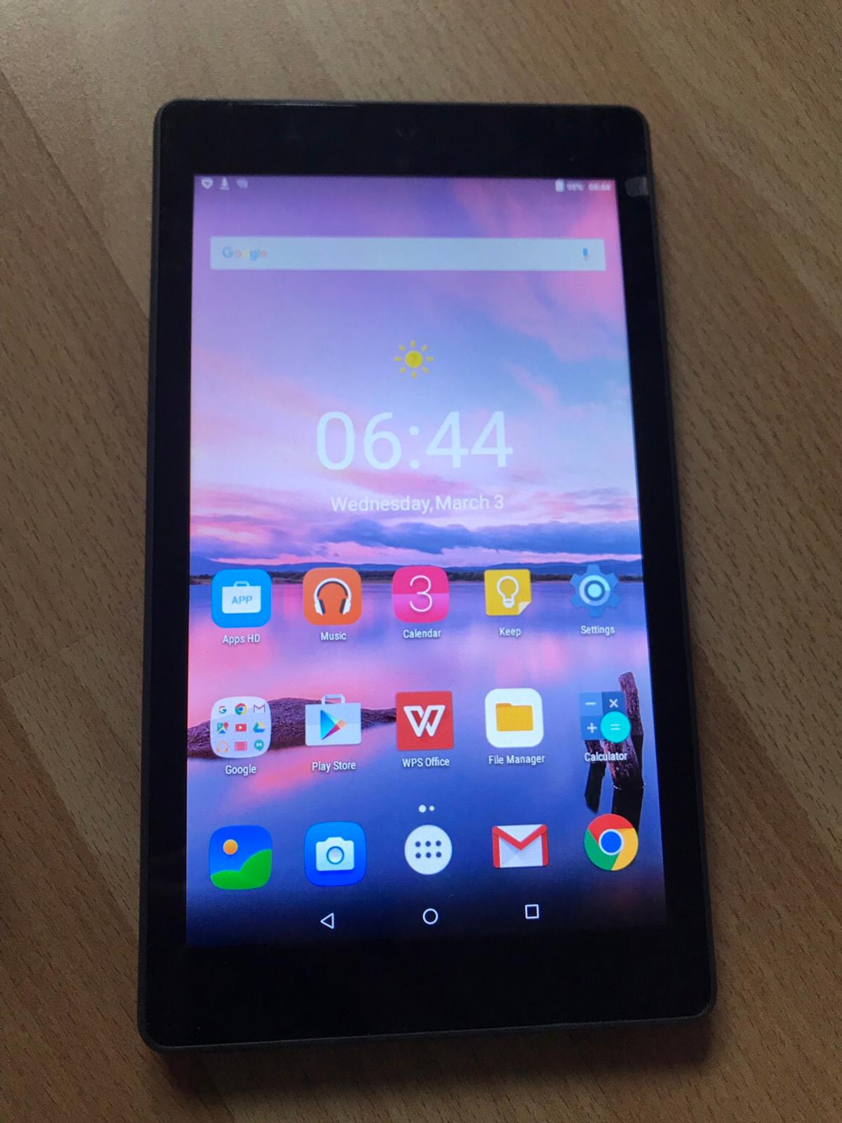 """Alcatel pixi 4 7"""" WiFi android tablet in CF31 Brackla for £35 00 for"""