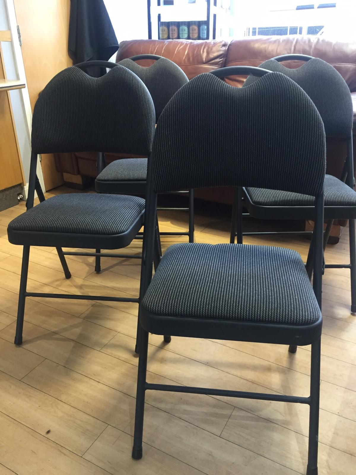 Set Of 4 Padded Folding Chairs Costco In S66 Rotherham