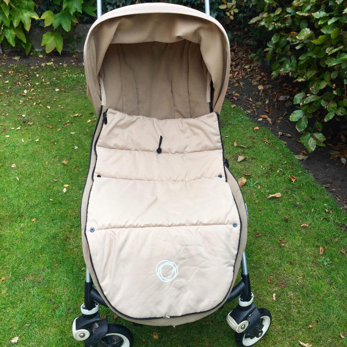 Footmuff Cosy Toes Compatible with Bugaboo Bee Plus Sand
