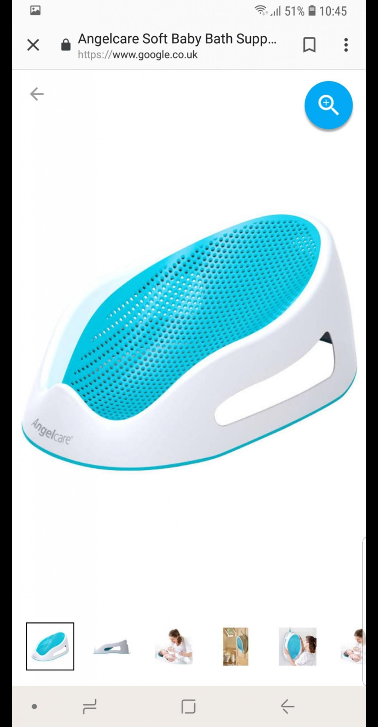 cc2cc29912d1 Angelcare bath support in LS10 Leeds for £10.00 for sale - Shpock