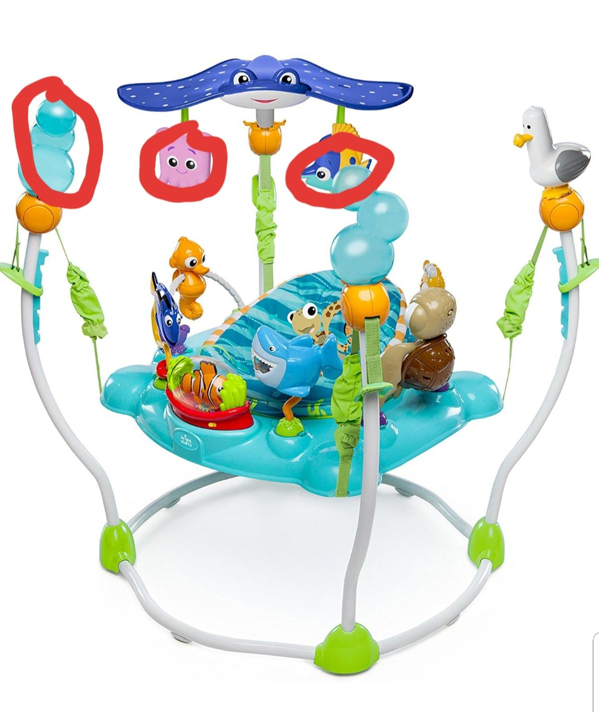 what age is a jumperoo recommended for