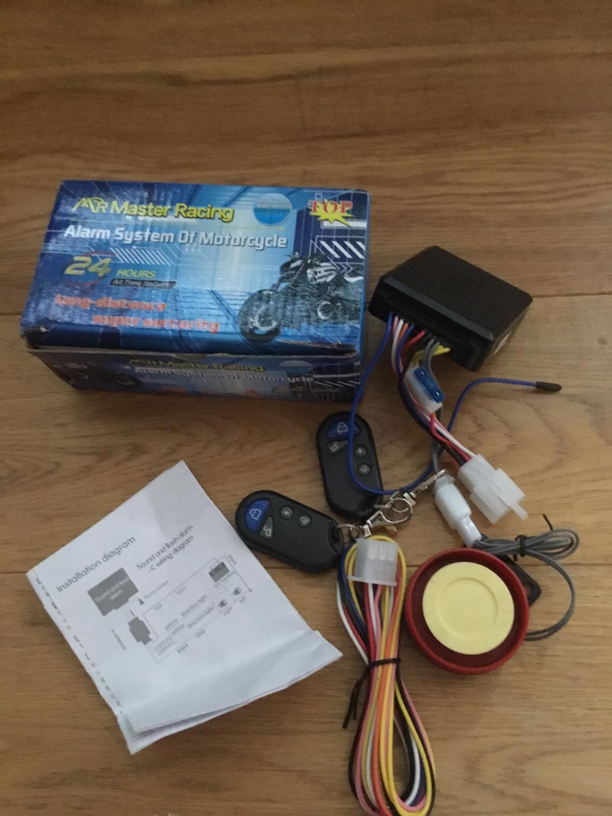 Mr master racing alarm system for bike in B38 Bromsgrove für ... on