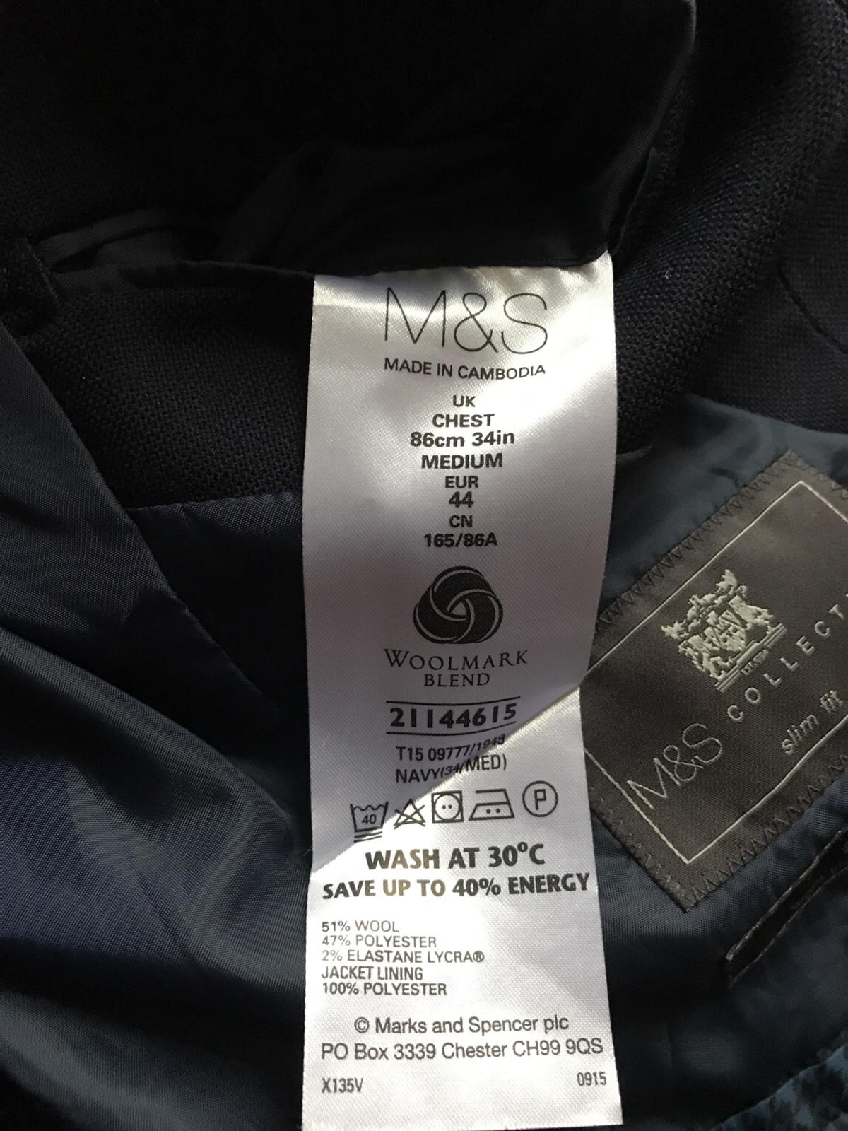 Marks and Spencer Machine Washable