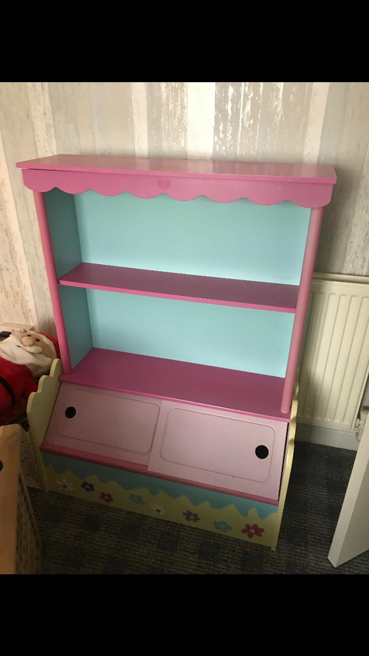 Children S Bookcase And Toy Box Storage In Dy1 Dudley Fur