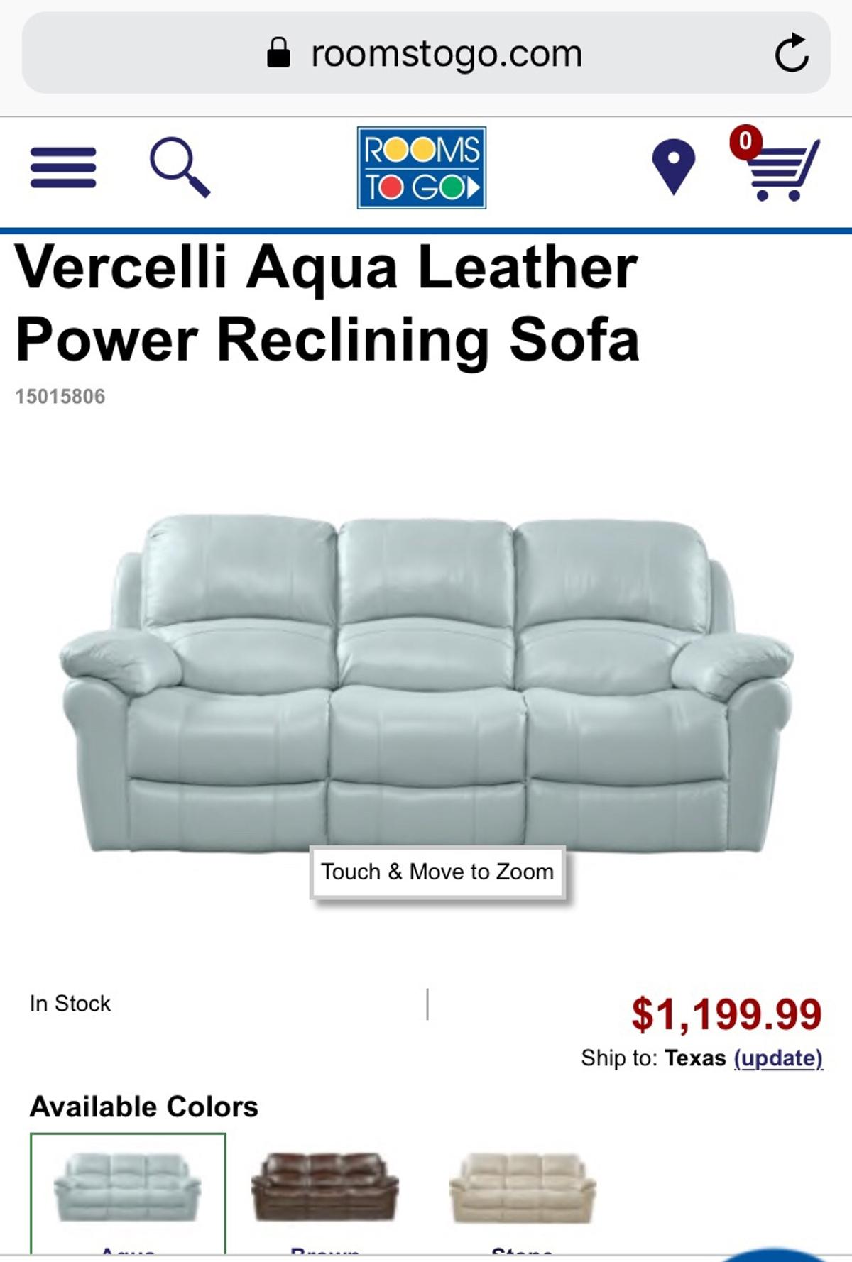 Fabulous Leather Aqua Sofa In For Us 450 00 For Sale Shpock Gamerscity Chair Design For Home Gamerscityorg