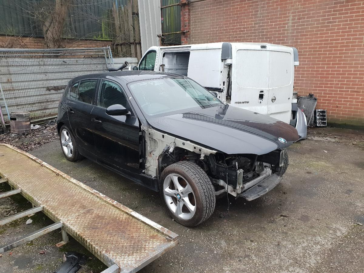 Breaking Bmw 1 Series E87 Black All Parts In St5 Lyme For Free For Sale Shpock