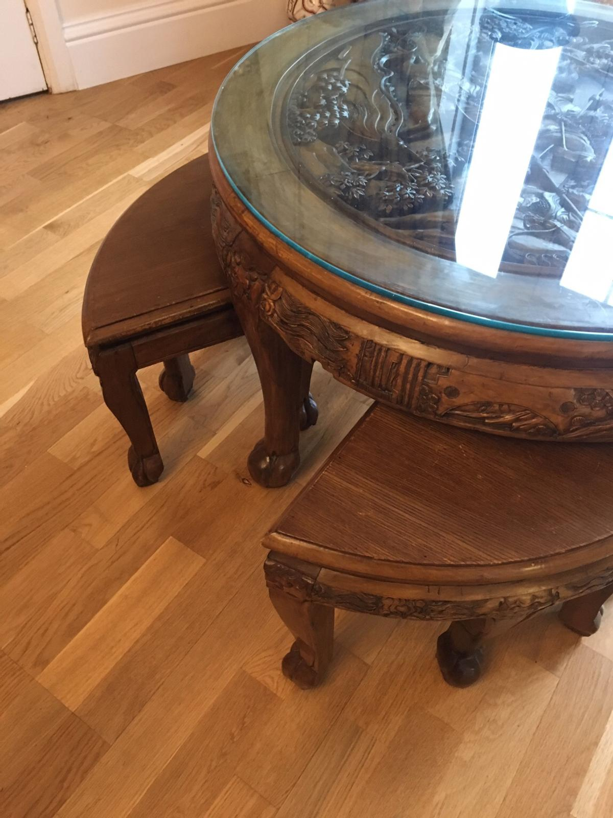Chinese Coffee Table And 4 Stools In En4 Barnet For 300 00 For Sale Shpock