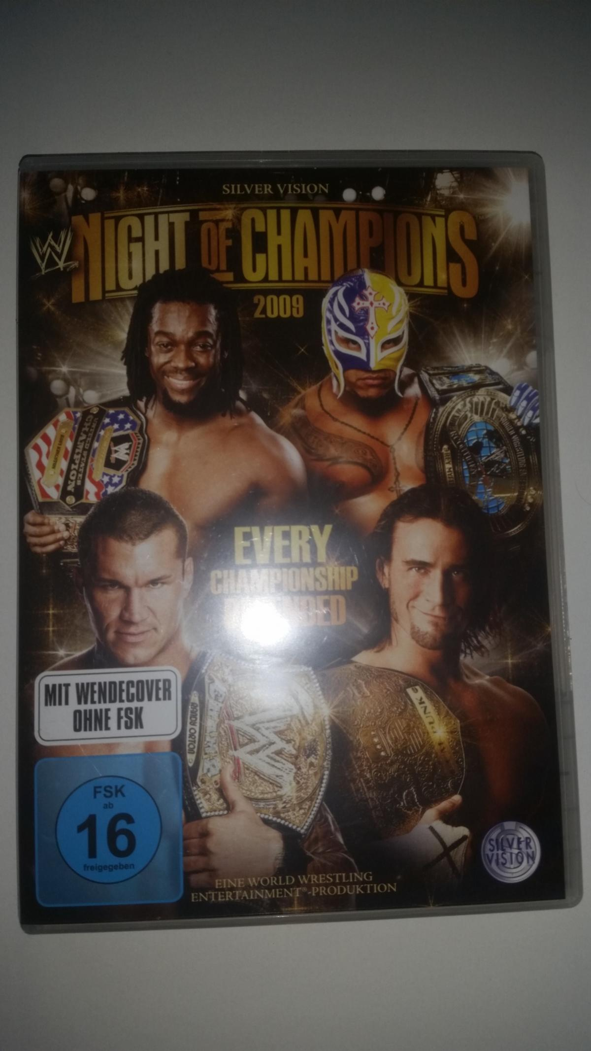Wwe Night Of Champions Dvd