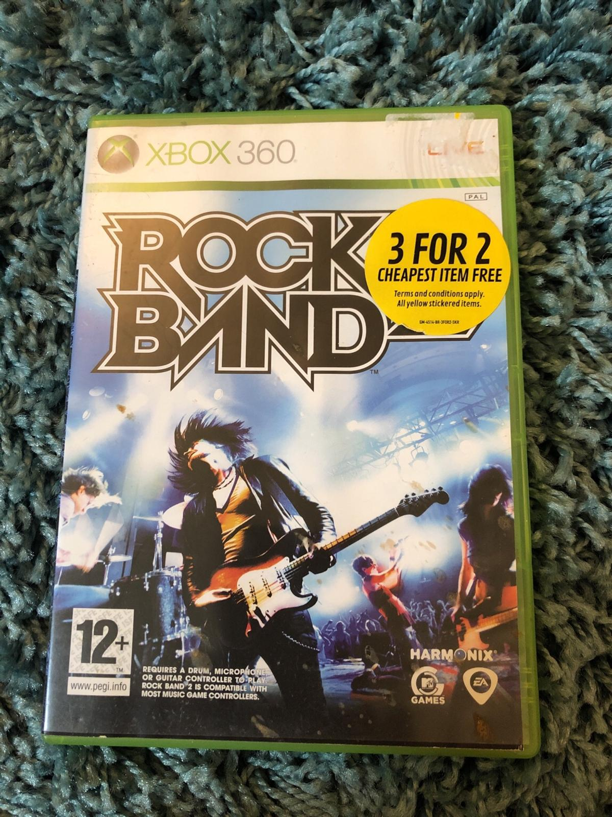 Rock band Xbox 360 game