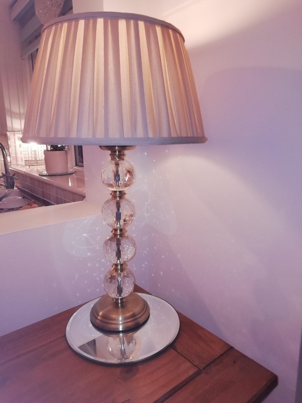 Picture of: Crystal Table Lamp In Rh10 Crawley For 30 00 For Sale Shpock