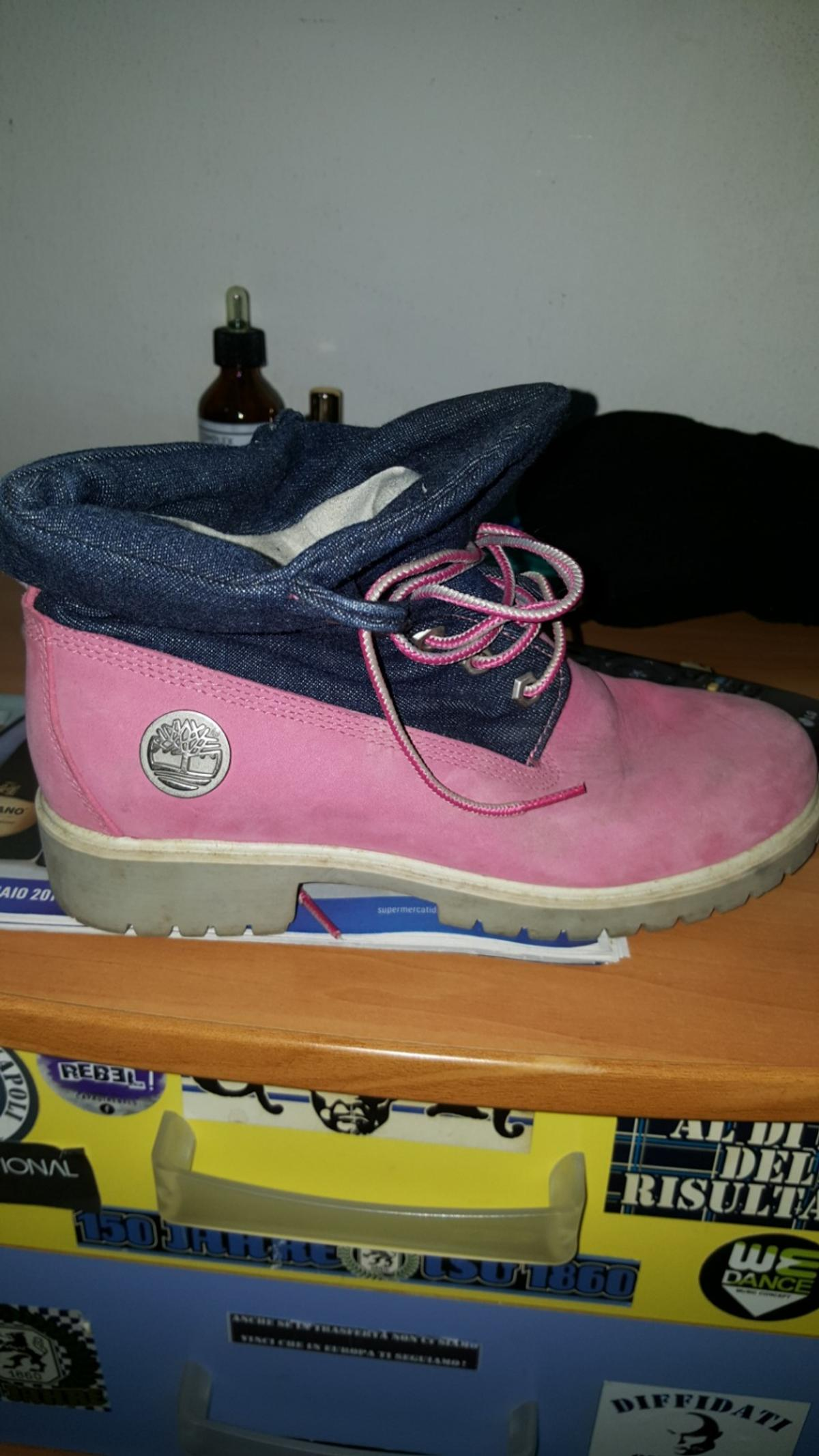 new products 7b14a 4d153 Timberland rosa e jens