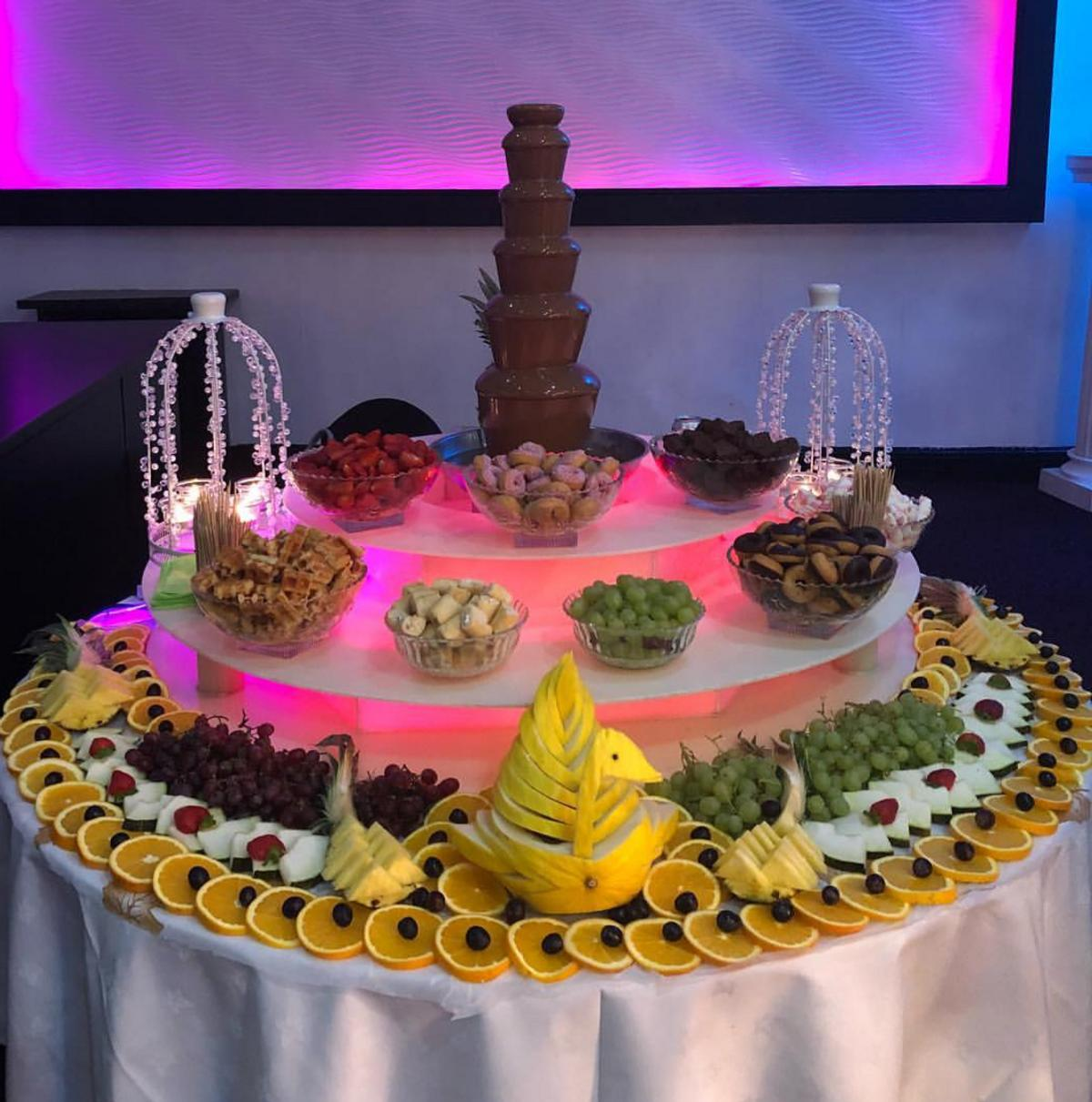 Groovy Chocolate Fountain Fruit Display Candy Table Home Interior And Landscaping Synyenasavecom