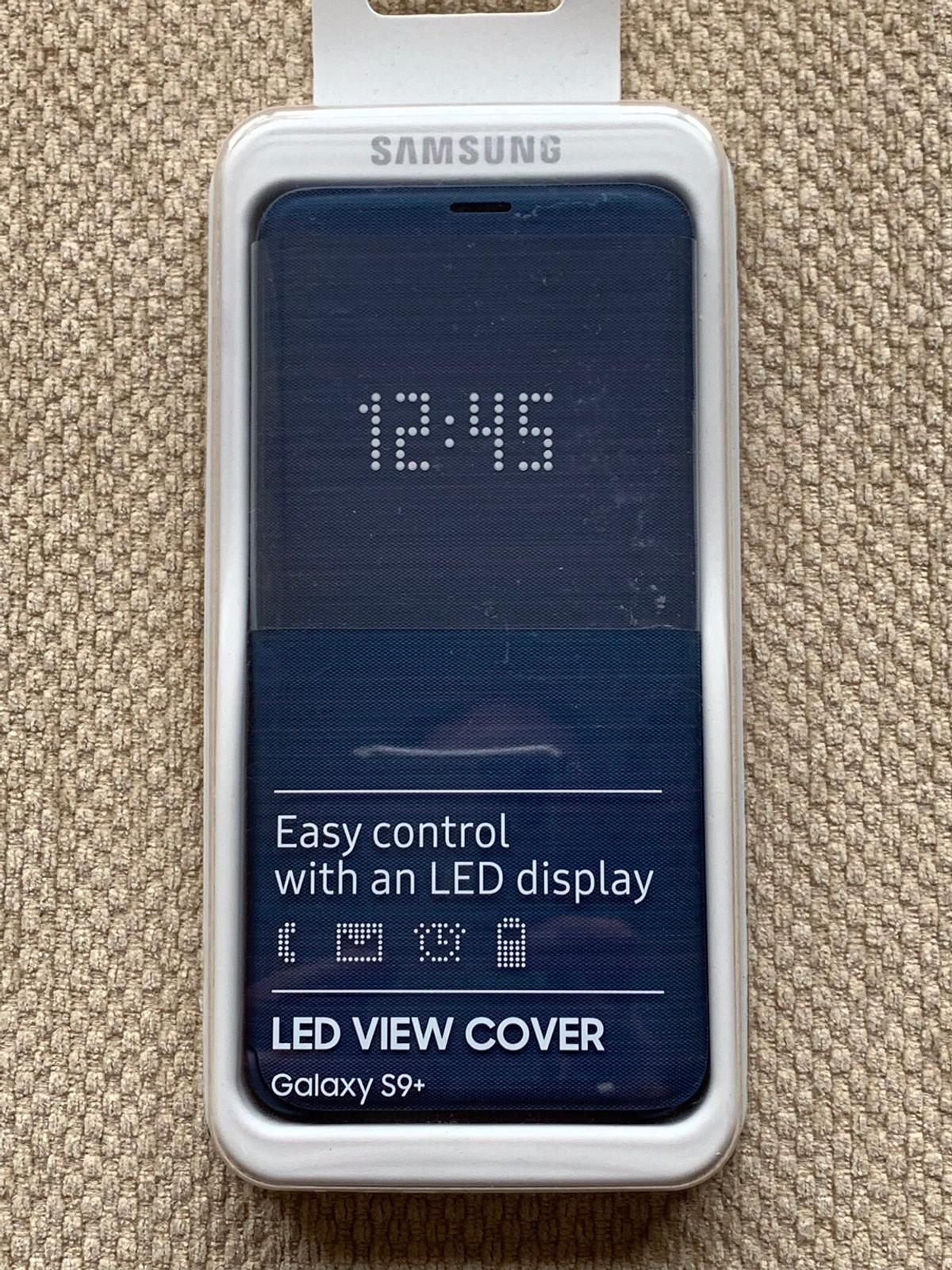 timeless design 0af3a 822e3 LED View Cover for Samsung Galaxy S9+