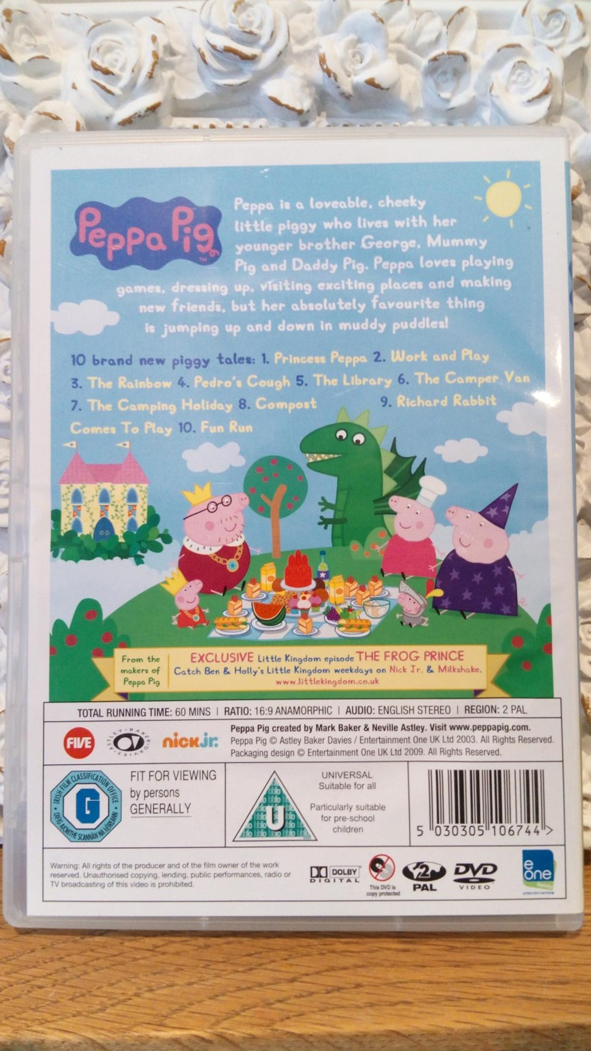 Peppa Pig Dvd In London Borough Of Bexley For 1 00 For Sale Shpock