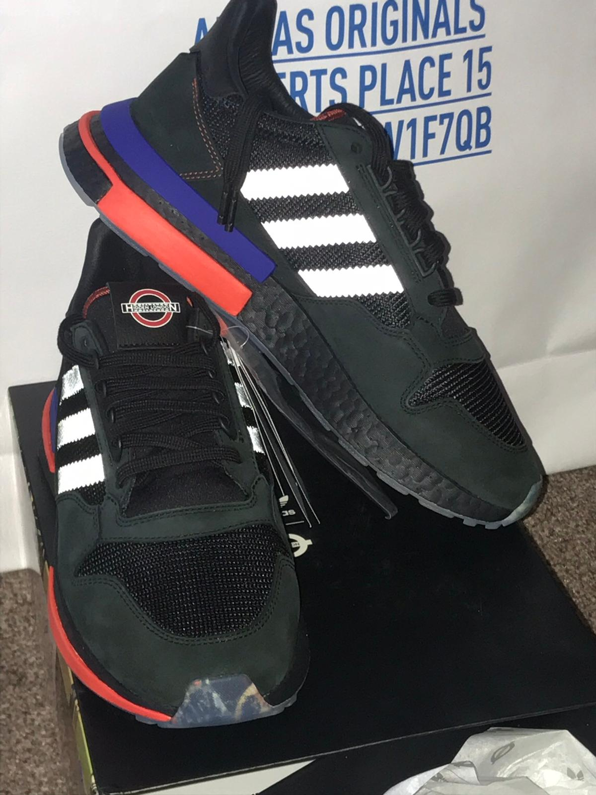 new concept df6ae 908cb ADIDAS ORIGINALS X TFL PACK ZX500 RM UK 8 in HA2 London for ...