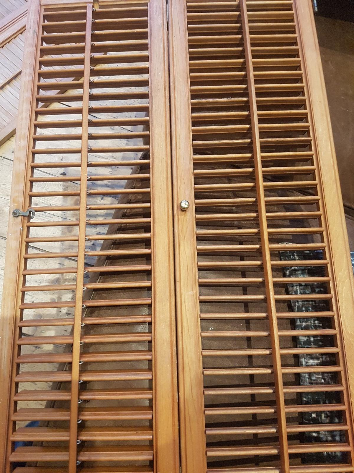 Wooden Bay Window Shutters In Bn1 Brighton For 100 00 For