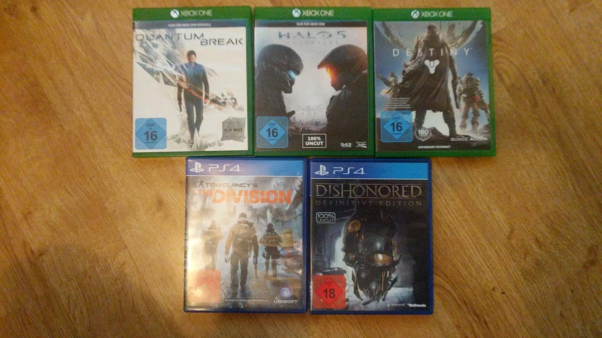 ps4 & xbox games