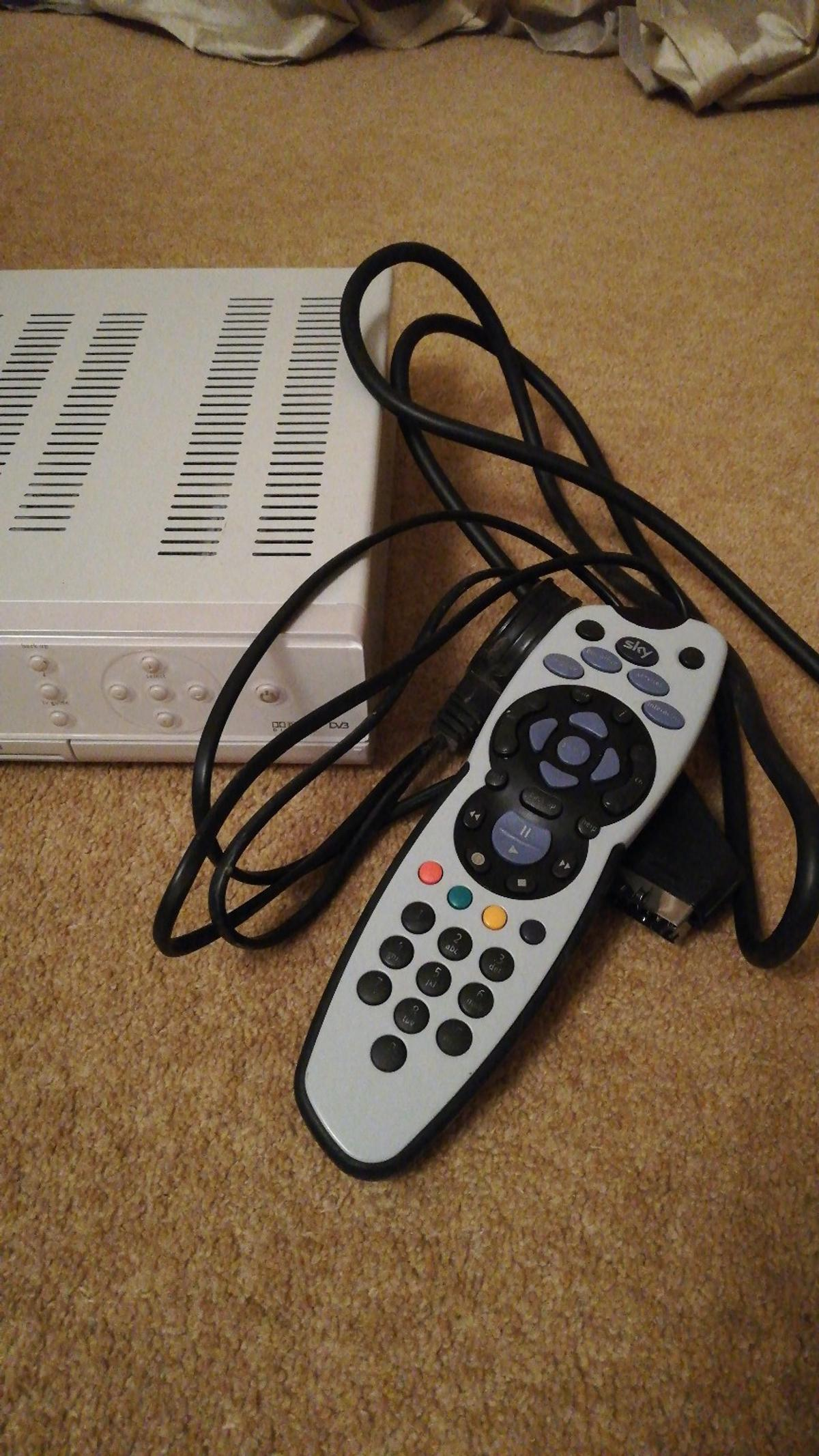 Excellent Sky Box With Remote And Wires In Middlesbrough For 4 00 For Sale Wiring Digital Resources Ntnesshebarightsorg