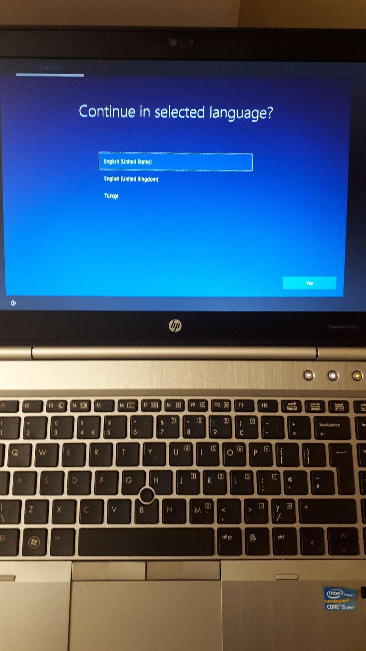 HP Elitebook 8470p (core i5 vPro 2 8 in LE1 Leicester for