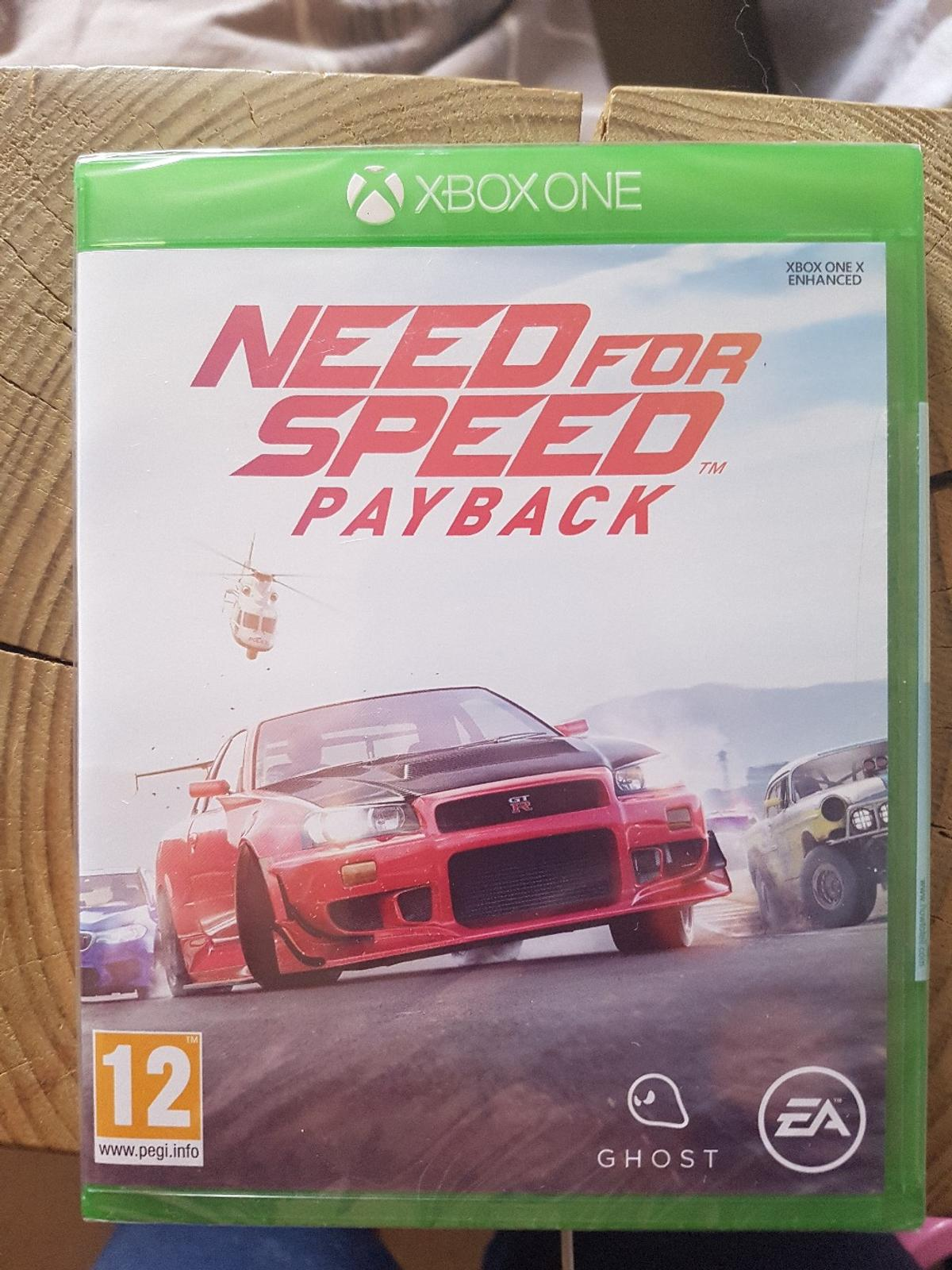 Need For Speed Payback Xbox One Brand New In Sy1 Shrewsbury For