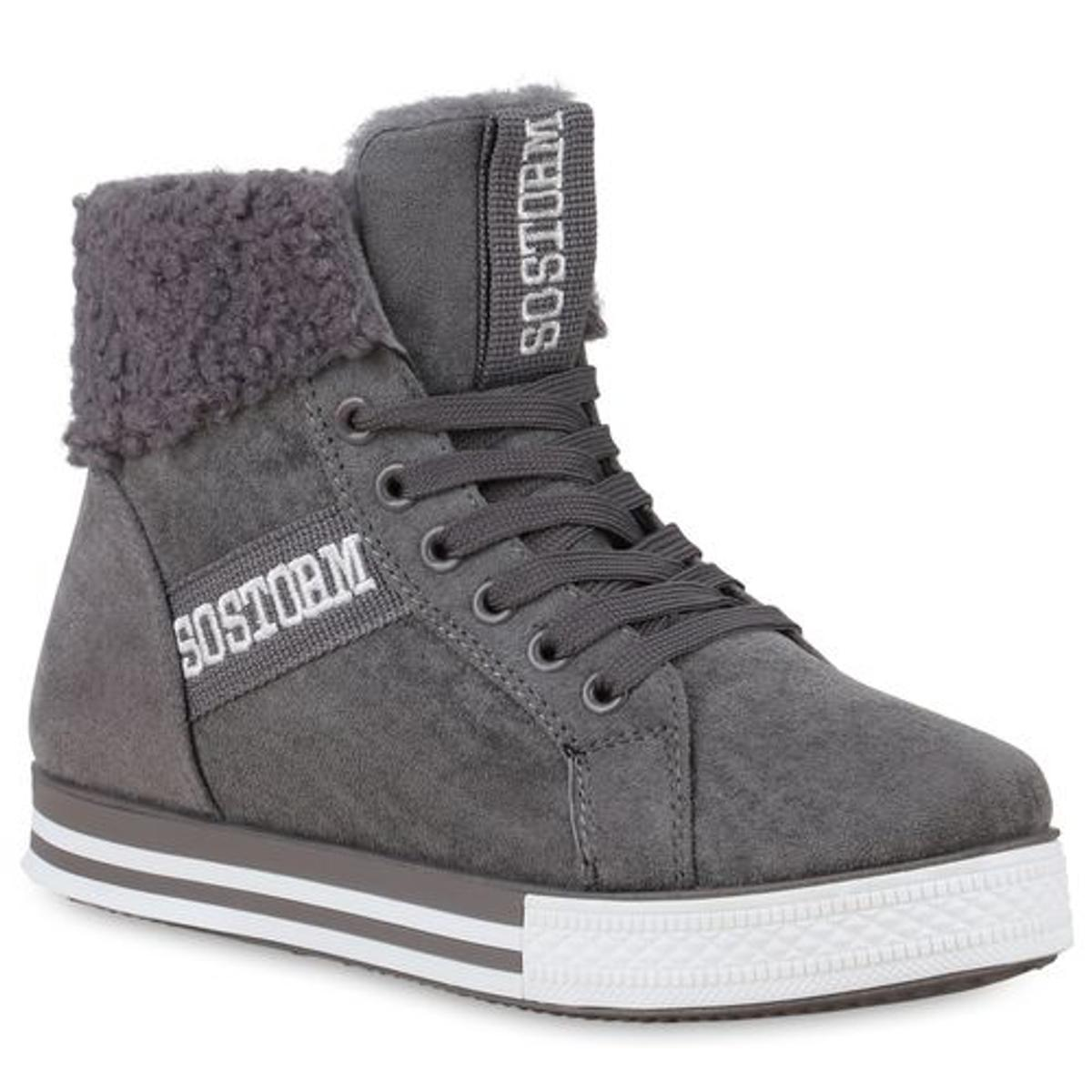 Damen Winter Sneaker high